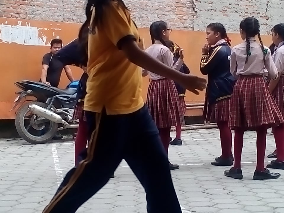 Dance Practice for Dashain Program